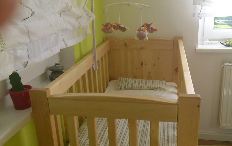 Gitterbett Zirbe Kinderbett Aus Massivem Zirbenholz Innenmass Cm